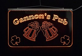 LED Personalized Bar Sign, Man Cave Sign, Family Name Sign, -Gift image 2