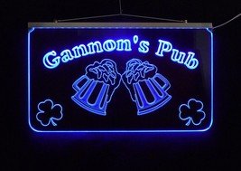 LED Personalized Bar Sign, Man Cave Sign, Family Name Sign, -Gift image 3