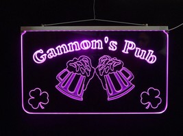 LED Personalized Bar Sign, Man Cave Sign, Family Name Sign, -Gift image 4
