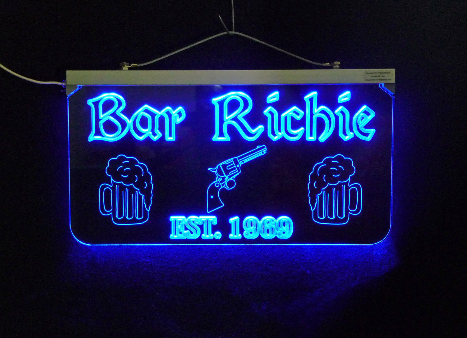 Personalized Sign,  Bar, Man Cave, Business, Garage, Multi-Color - Gift