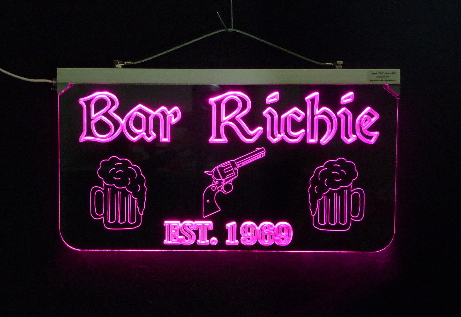 Personalized Sign,  Bar, Man Cave, Business, Garage, Multi-Color - Gift image 4