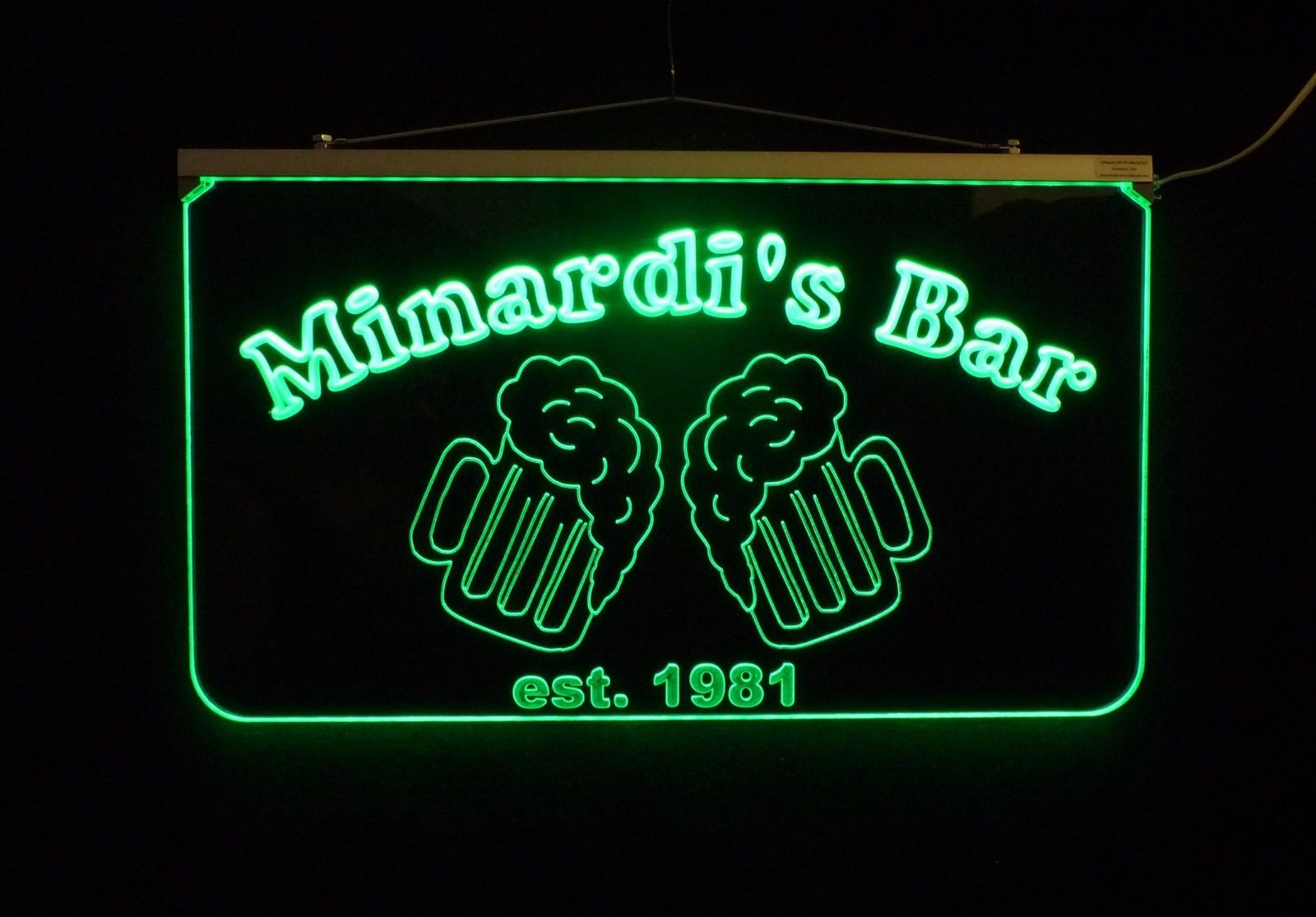 Personalized LED Bar/Pub Sign, Design your own Sign image 4