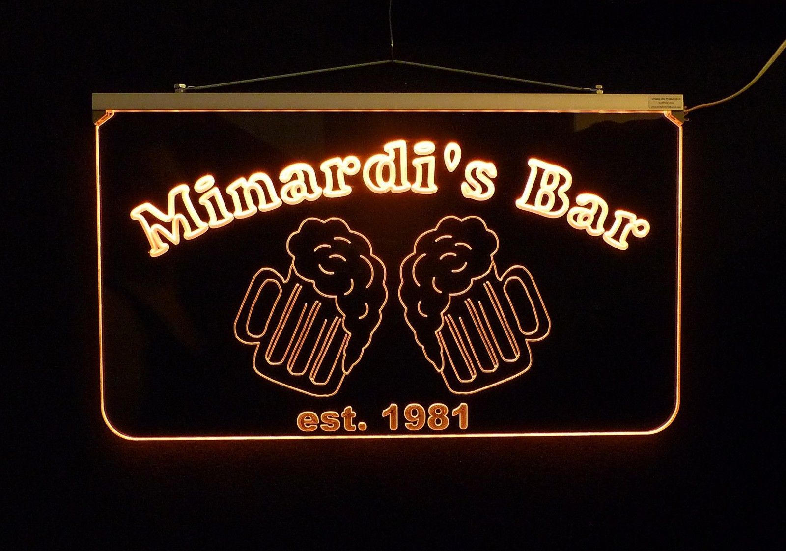 Personalized LED Bar/Pub Sign, Design your own Sign image 5