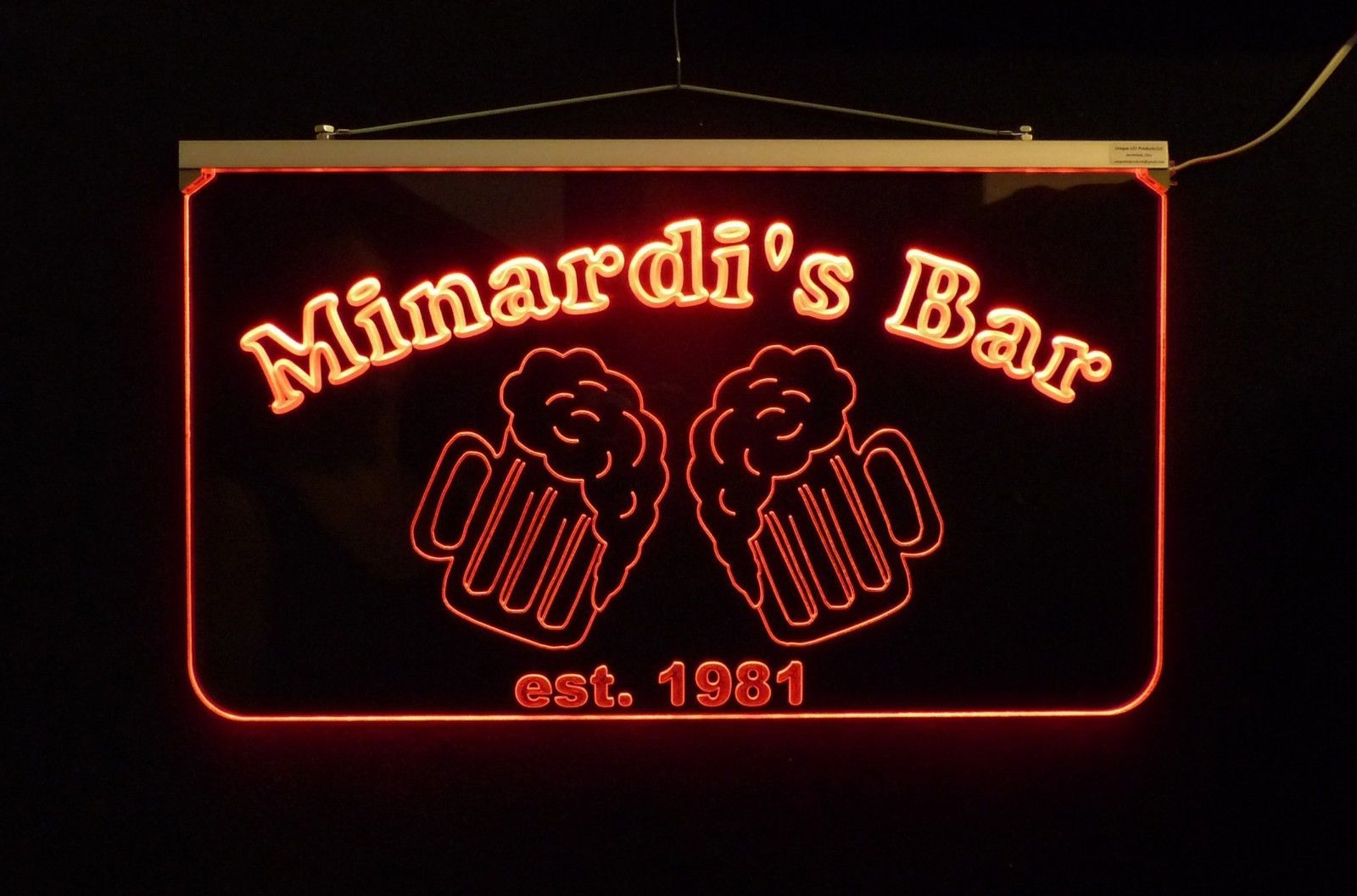 Personalized LED Bar/Pub Sign, Design your own Sign image 6