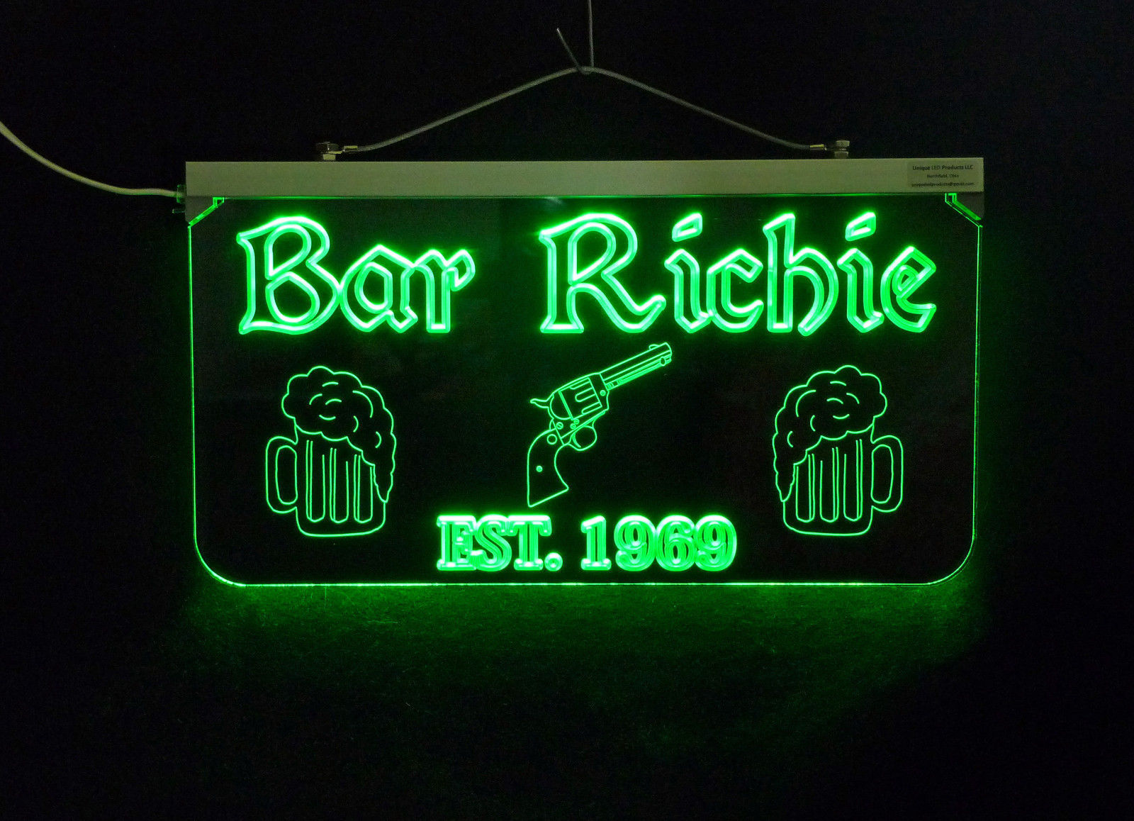 Personalized Sign,  Bar, Man Cave, Business, Garage, Multi-Color - Gift image 2