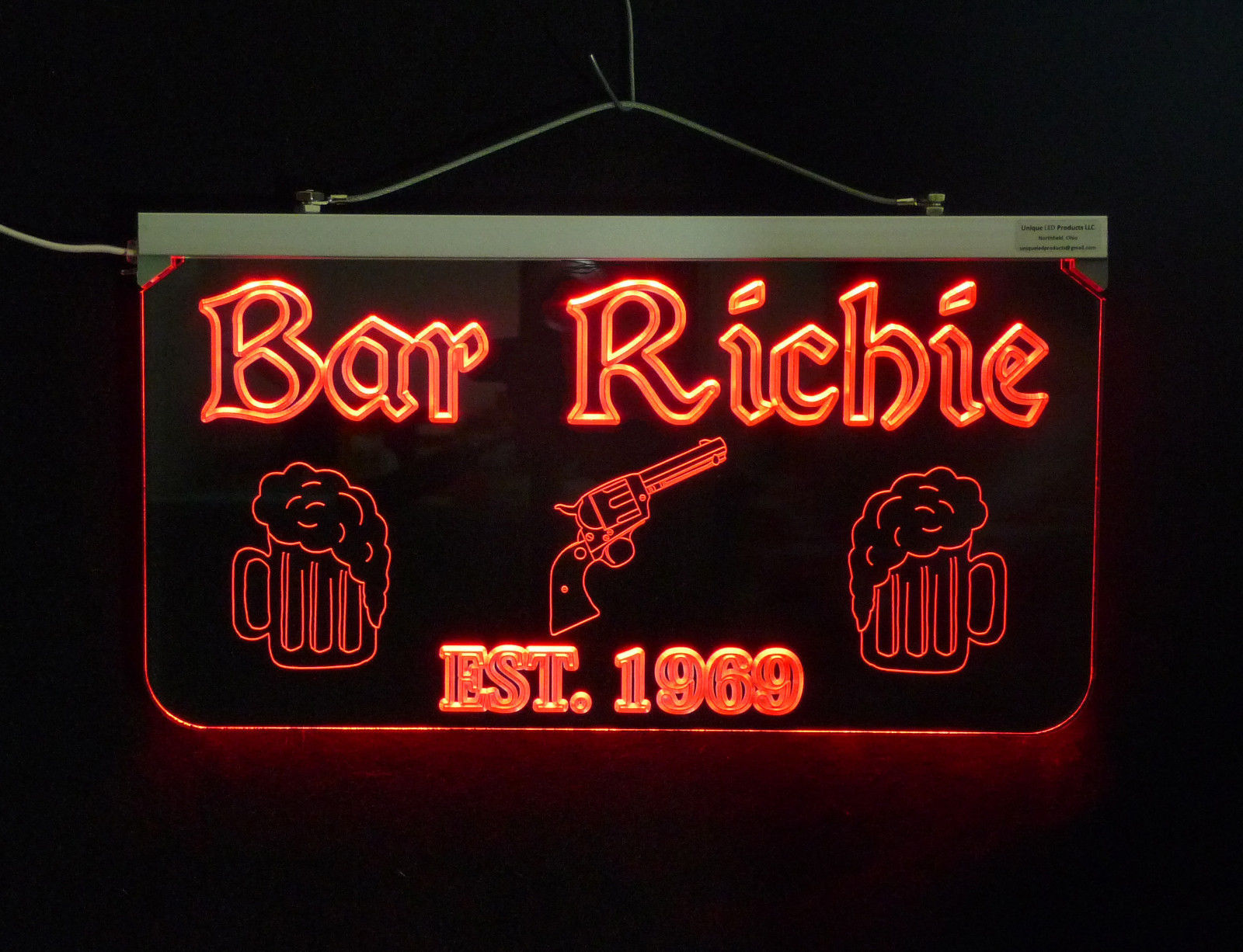 Personalized Sign,  Bar, Man Cave, Business, Garage, Multi-Color - Gift image 5