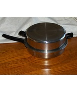 VTG Youngsware Skillet Tri Clad Stainless Steel 11 inch Fry Pan with Lid  - $59.97