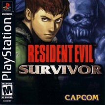 Resident Evil Survivor PS1 Great Condition Fast Shipping - $29.93