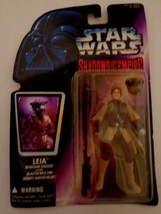 """STAR WARS SHADOWS OF THE EMPIRE 'LEIA' 4"""" ACTION FIGURE 1996 - $6.79"""