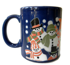 Otagiri Japan Snowman Coffee Tea Mug Cup Marile... - $39.99