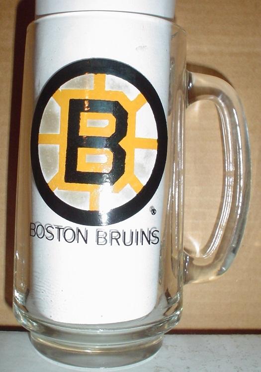 1972 Boston Bruins Stanley Cup Champions Glass Mug - $9.95
