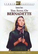 SONG OF BERNADETTE Starring Jennifer Jones