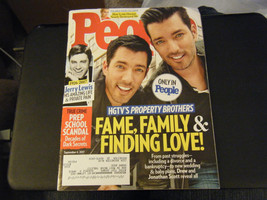 People Magazine - Property Brothers Cover - September 4, 2017 - $5.93