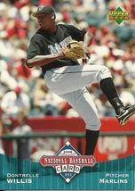 2006 Upper Deck National Baseball Card Day Dontrelle Willis UD8 Marlins - $1.00