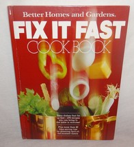 Better Homes & Gardens Fit it Fast Cook Book 1979 270 Recipes with - $9.35