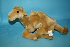"""Fiesta 11"""" Plush Two Hump Laying CAMEL Stuffed Animal Sitting Soft Toy #... - $21.26"""