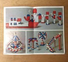Vintage Loc Bloc 600 (Entex) Construction Blocks Set image 8