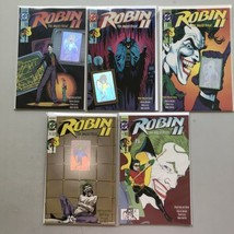 Lot of 10 Robin 2 The Joker's Wild (1991) #1-4 with Variants NM Near Mint - $23.76
