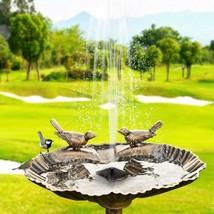 Water Fountain Pump 7V Solar Fontein Bird Floating Pond Garden Patio Dec... - $25.34