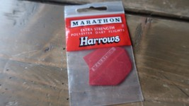 3 NEW Vintage Dart Flights MARATHON HARROWS - $2.96
