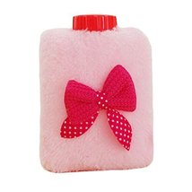 Mini Bowknot Washable Soft Cover Hot Water Bottle Warm Hand Bag-A05 - $17.85
