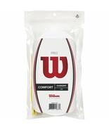 Wilson  - WRZ4017WH - Comfort Tennis Pro Racket Overgrip 30 Pack - WHITE - $36.58