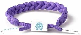 RASTACLAT Gusher Purple Girls MiniClat Braided Shoelace Bracelet RCW001GSHR NEW image 2