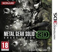 Metal Gear Solid : Snake Eater 3D  - €65,75 EUR