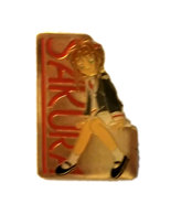 "Cardcaptor Sakura ""Sakura"" Gold Anime Pin * Card Captor - $4.88"
