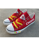 Kansas city chiefs shoes kc chiefs sneakers super sowl fashion birthday ... - $55.00+