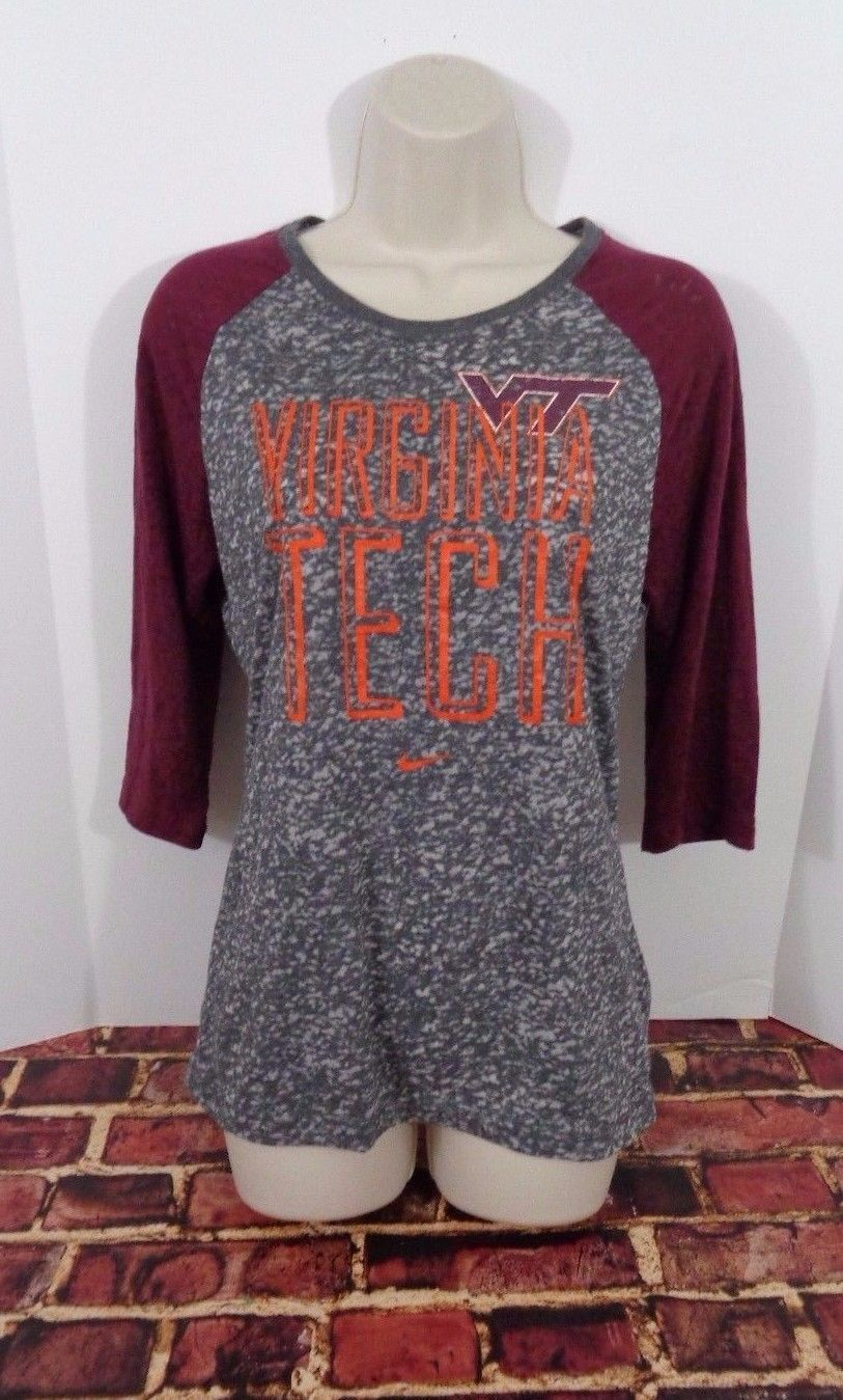 c28aef88d0a Nike Virginia Tech Hokies NCAA Fan Top Shirt and 50 similar items. S l1600