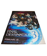2006 FINAL DESTINATION 3 Original Movie Vinyl Theater Lobby Banner 58x90... - $79.99