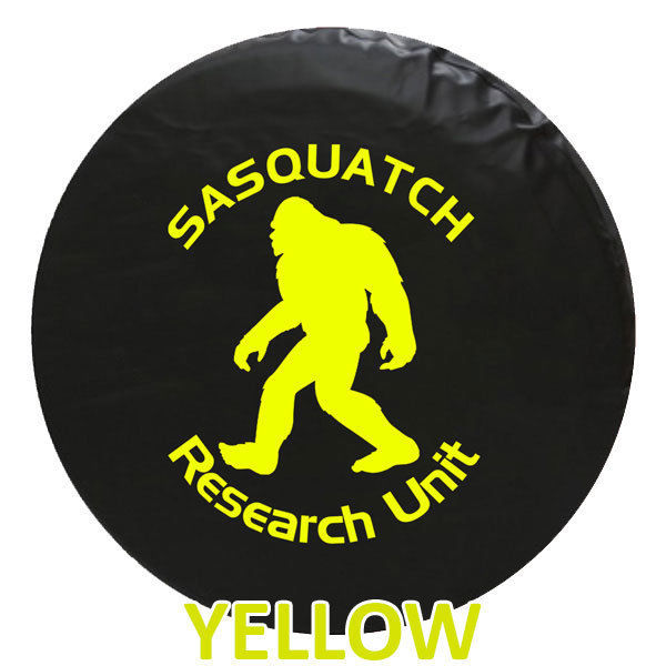 Bigfoot Sasquatch Tire Cover - STANDARD - We Need Tire Size and Color Choice