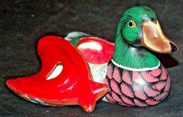Duck Figurine (Jewelry Box ) AA20-2060 Vintage image 6