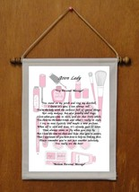Avon Lady - Personalized Wall Hanging (858-1) - $18.99