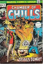 Chamber of Chills Comic Book #5, Marvel Comics 1973 VERY GOOD+/FINE- - $8.09