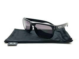 Oakley Holbrook Sonnenbrille Oo9102-01 Matt Schwarz Rahmen W / Warm Graue Linse - $77.63