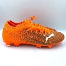 New Men's Puma Ultra 3.1 FG AG Shocking Orange Soccer Cleats Size 10 (106086-01) - $61.74