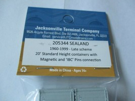 Jacksonville Terminal Company # 205344 Sealand 20'  Standard Container image 2