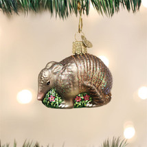 Armadillo Glass Ornament - $18.95
