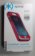 Speck Products iPhone 5/5s CandyShell + FACEPLATE Case - Raspberry Pink/Black - $7.91