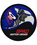 USAF 94th Fighter Squadron SPAD RAPTOR DRIVER Patch Sticker - $9.89