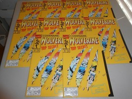 Huge Lot of 100 copies of 1992 Wolverine Comic #50 Weapon X File Die-Cut Cover - £234.90 GBP