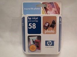 HP 58 Photo Inkjet Ink- Factory Sealed 12/2004 OEM NEW ink - $7.85