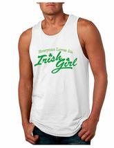 Men's Jersey Tank Top Saint Patrick's Day Everyone Love Irish Girl  Iris... - $17.00