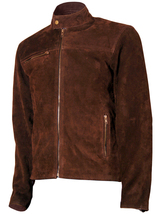 Tom Cruise Suede Mission Impossible Leather Jacket | LJM - $199.99