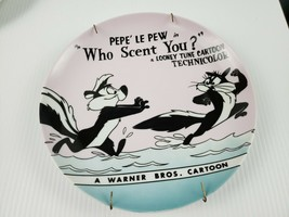 Vintage 1994 Pepe Le Pew Who Scent You? Decorative Plate (Warner Bros Store) - $28.01
