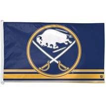 Wincraft Buffalo Sabres 3x5 Flag (Size:3'X5' Color:BUFF SABRES THIRD) by WinC... - $32.42