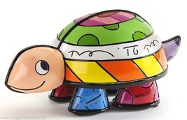 Romero Britto Turtle Marina Collection Figurine #334199 NEW