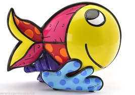 Romero Britto Fish Marina Collection Figurine #334198 NEW
